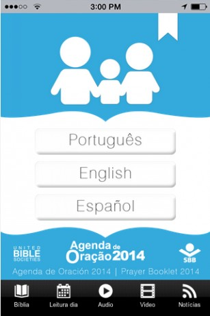 Prayer Booklet app 2014