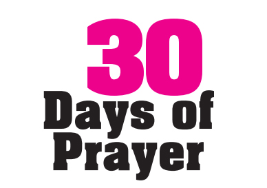 30 Days of Prayer Logo
