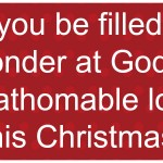 Bible verses about the wonder of Christmas