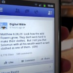 Facebook or the Bible? You can read both at once!