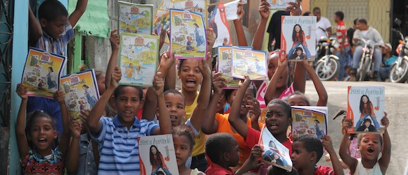 Bringing hope to children 'surrounded by violence' in Dominican Republic