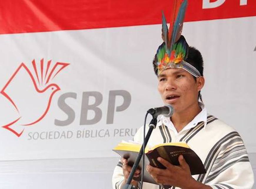 Bible translation is key to Peru's multilingual society