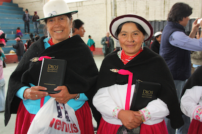 Ecuador's Quichua Cañar people celebrate their own Bible