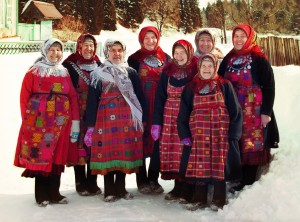 Buranovo Babushki  the runners up at the 2012 Eurovision (Photo by RTR)