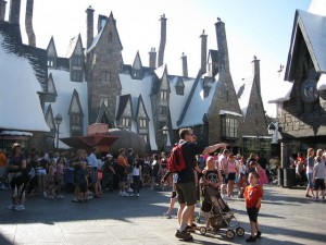 Harry Potter World. Photo by lightrace on Flickr