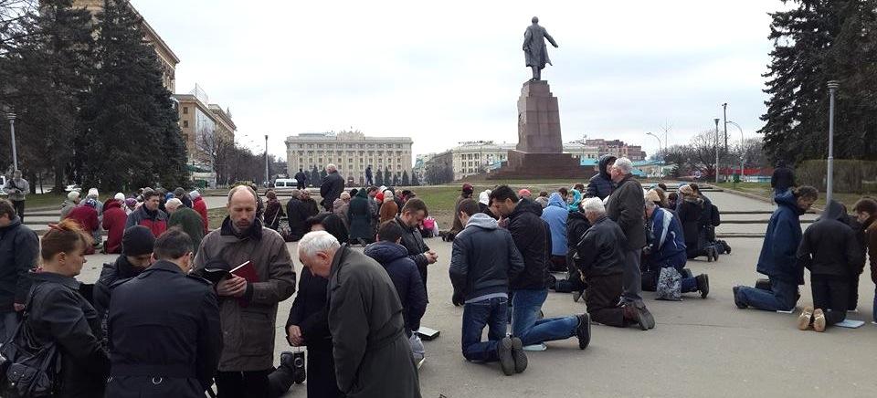 Prayers in Kharkiv