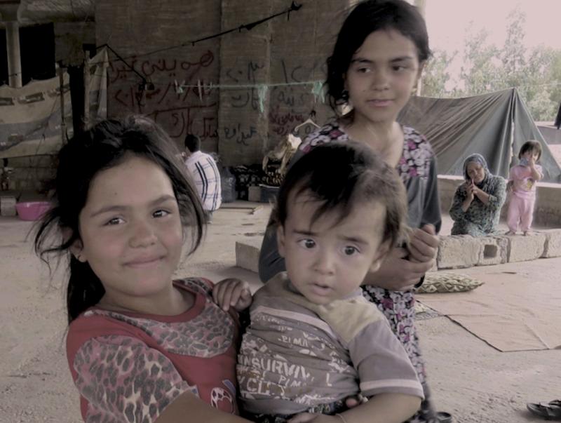 Little Iraqi girl