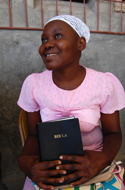 Haitian bible society united bible societies for Canape vert port au prince haiti
