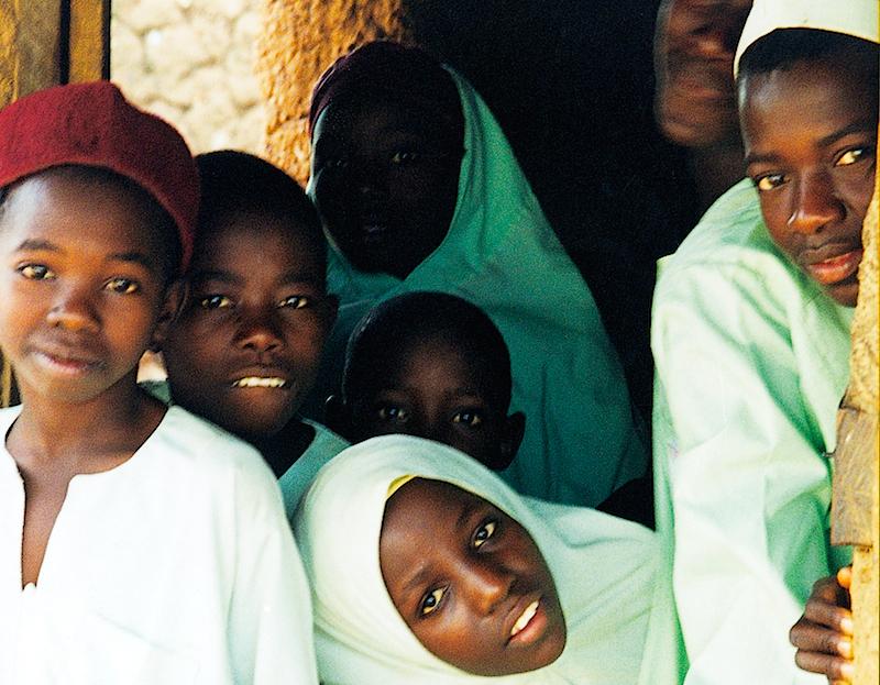 Muslim children in northern Nigeria.