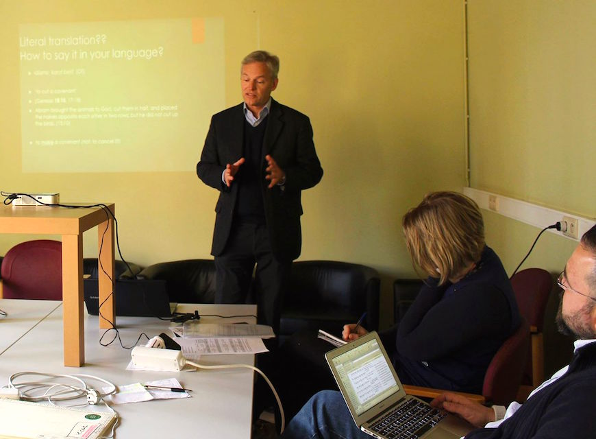 Venturing into the complex world of Bible translation