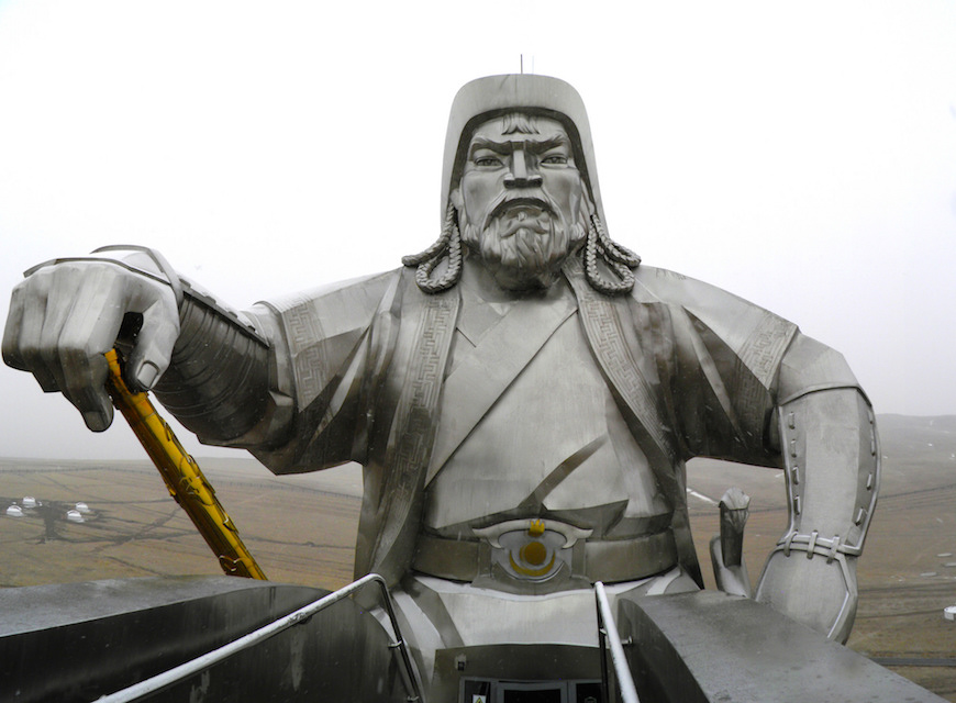 genghis khan an example of a visionary Genghis khan (photo credit: wikipedia) on one end of the leadership spectrum, there is machiavelli-conniving, ambitious and ruthless on the other there is cyrus the great-humble, generous and.