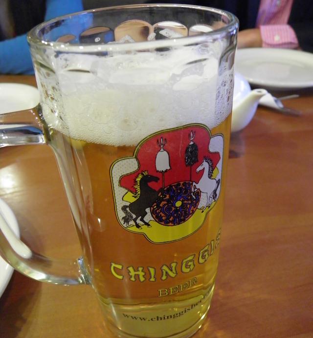 Chinggis Khaan beer