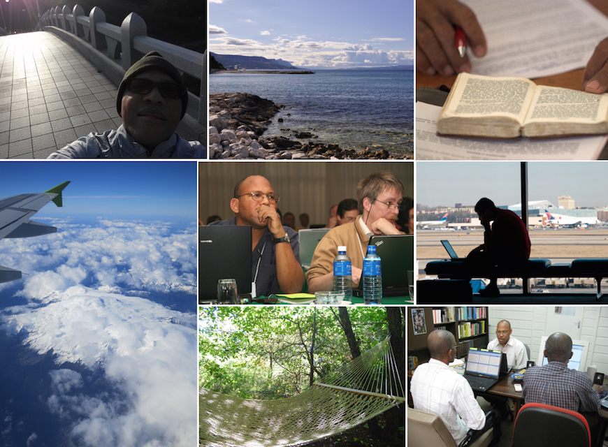 The varied and challenging life of a Bible translation consultant