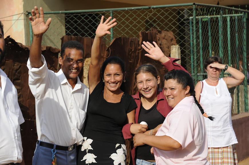Cuba smiles