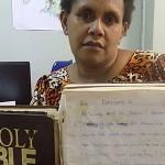 Bible manuscripts Vanuatu