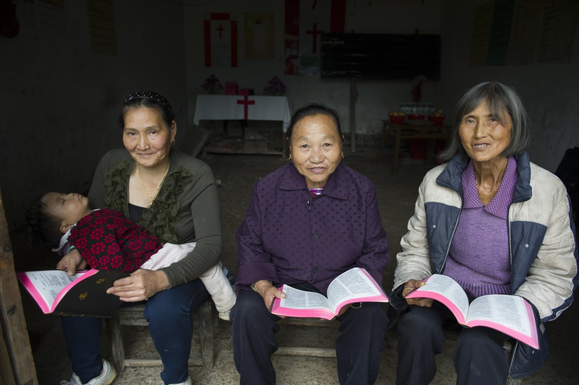 Bibles for China's millions