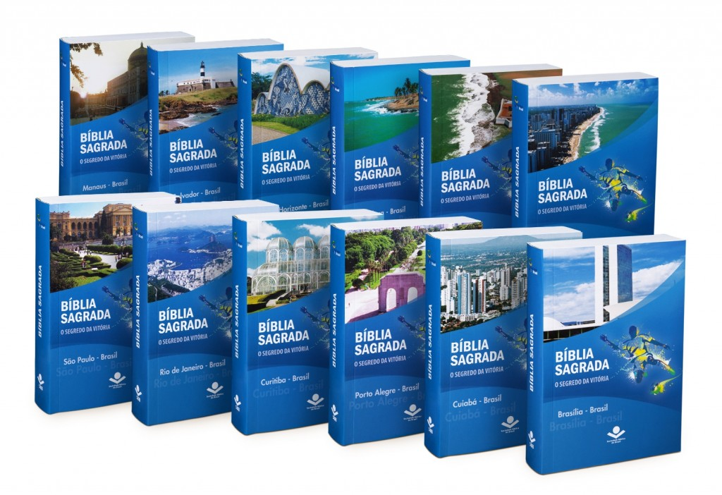World Cup Bibles produced for each of the 12 host cities.