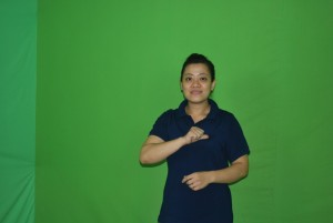 Vu Thi Kim Anh, 36, is one of the translators on the team.