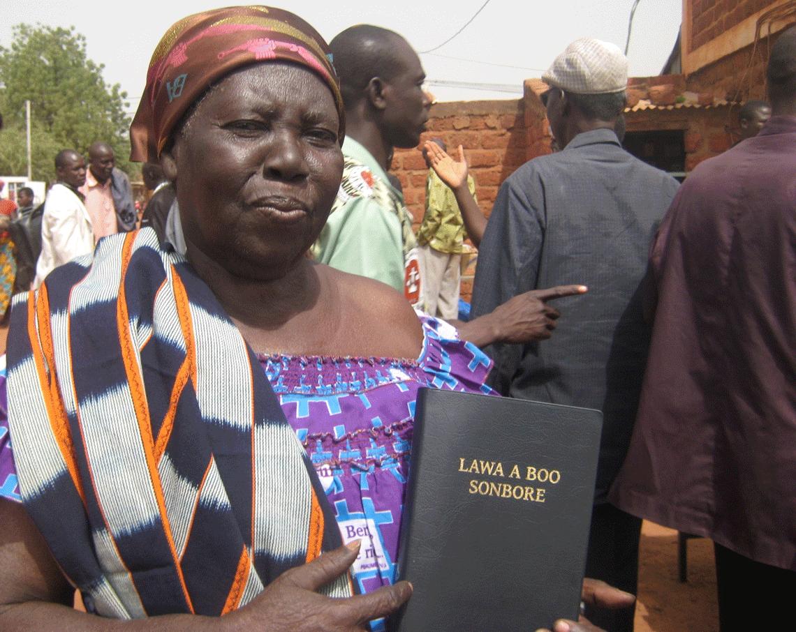 Burkina Faso San Bible