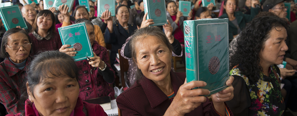 Scripture distribution remains steady around the world