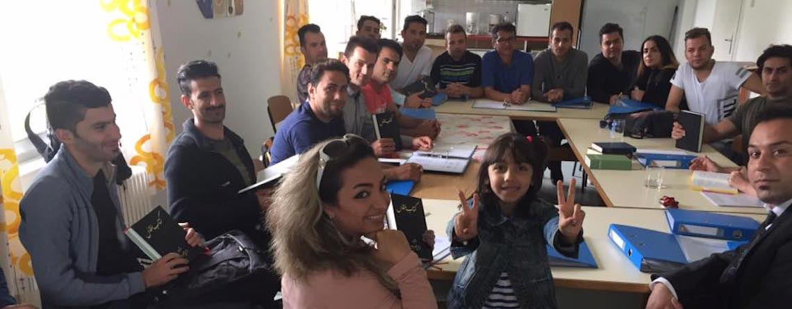 The many blessings of ministering to refugees: a story from Austria