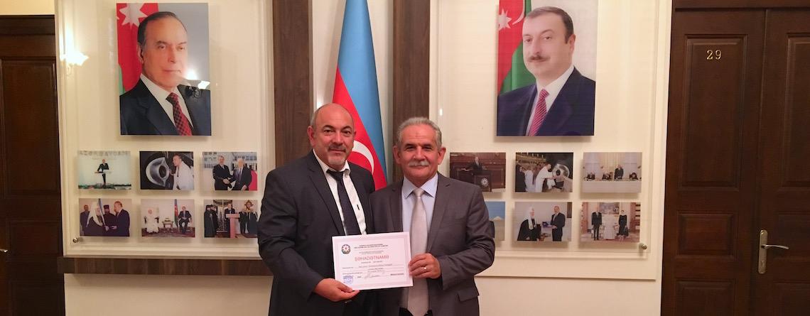 'New ministry opportunity' in Azerbaijan as Bible Society is officially registered