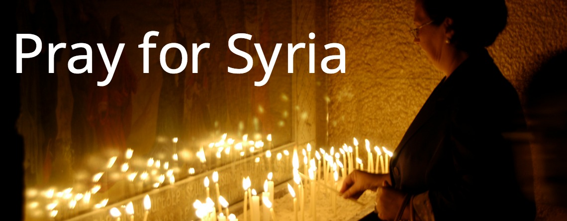 """Pray for us,"" says Bible Society leader in war-torn Aleppo"