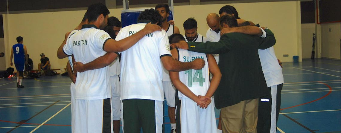 Pakistan's first national Christian basketball team tours Malaysia