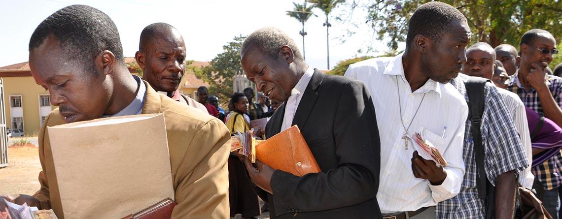 Warm reception for Uganda's Lumasaaba Bible