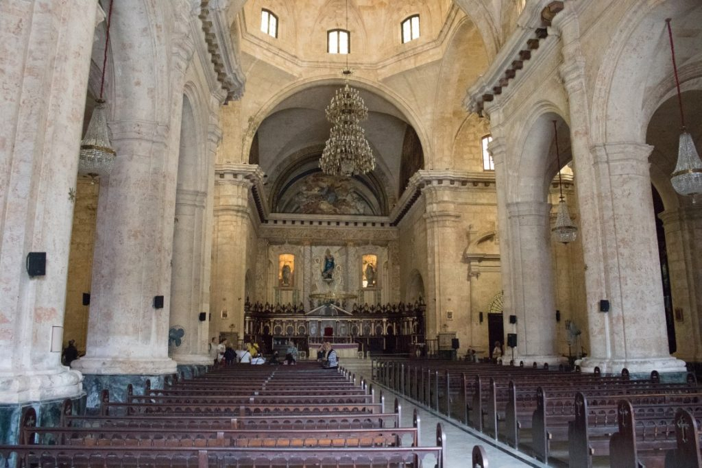 Travelling to Cuba - A church