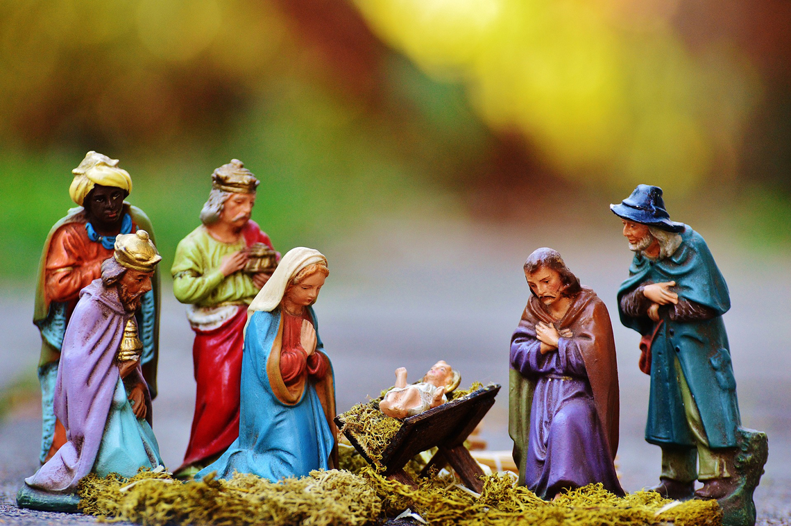 birth of Jesus - Nativity scene